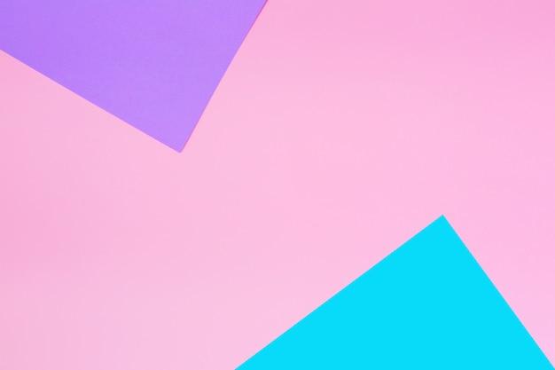 柔らかいピンク、青、紫の色。 Premium写真
