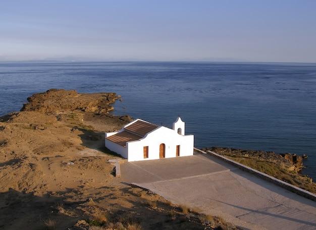 Церковь святого николая на острове закинф, греция Premium Фотографии