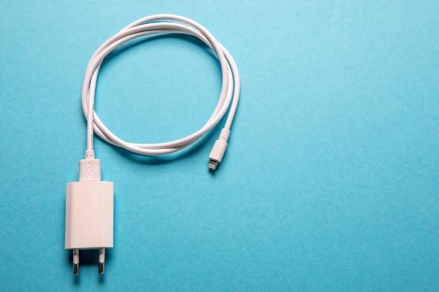 ケーブル電話充電器 Premium写真