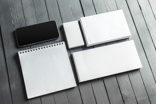 モックアップビジネステンプレート Premium写真