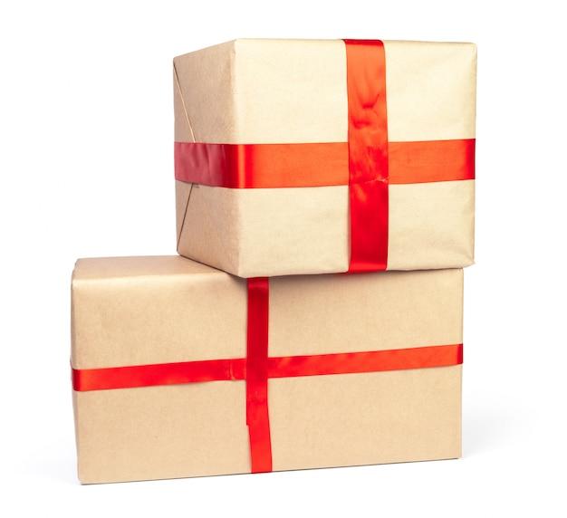 クリスマスプレゼントの分離 Premium写真
