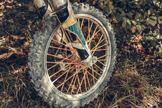 モトクロスバイク - 詳細 Premium写真
