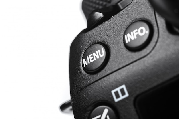 デジタルカメラのクローズアップビュー Premium写真