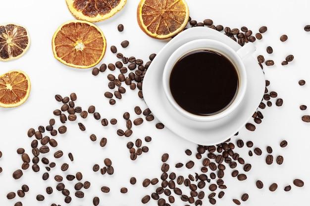 一杯のコーヒー Premium写真