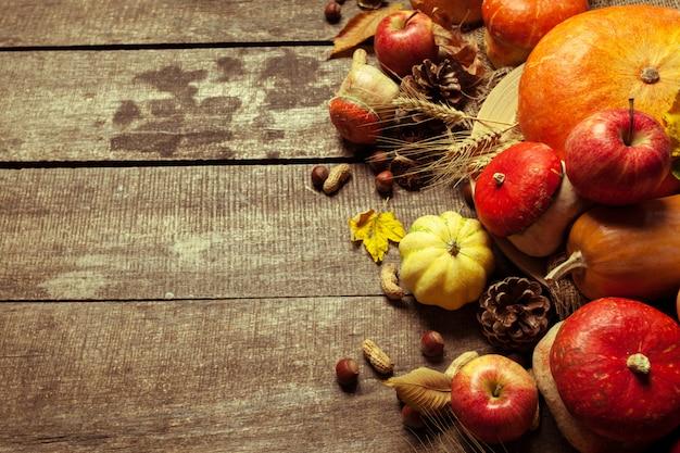 秋の背景 Premium写真
