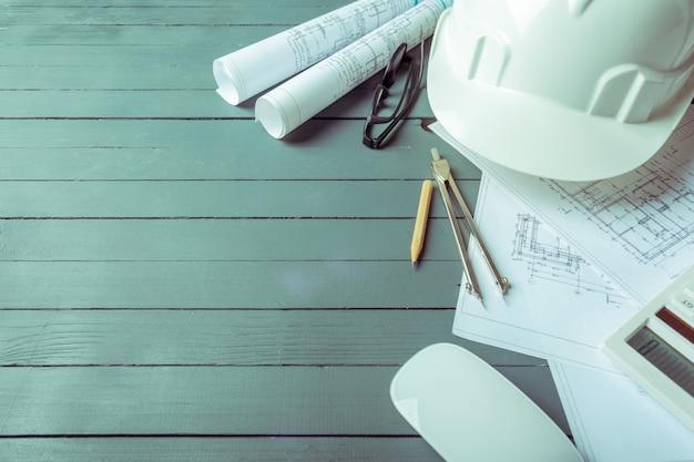 建築計画 Premium写真