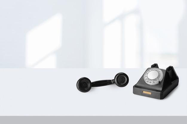 古い電話 Premium写真