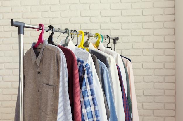 衣類ラック Premium写真