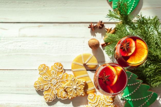 Рождественский глинтвейн Premium Фотографии