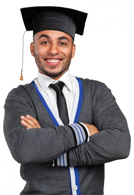 若い卒業男 Premium写真