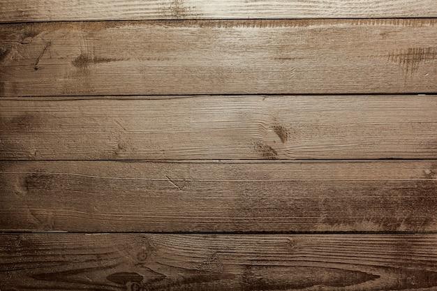 自然な暗い木製の背景 Premium写真