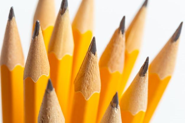 鉛筆の山 Premium写真