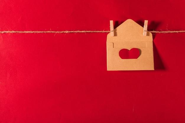 幸せなバレンタインデーの背景 Premium写真