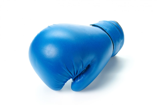 ボクシンググローブをクローズアップ Premium写真