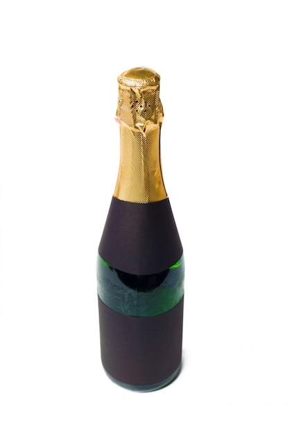 Шампанское на белом Premium Фотографии