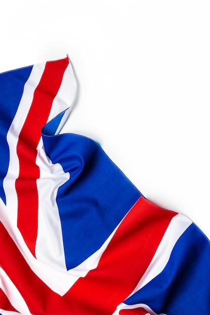 ユニオンジャックの旗 Premium写真