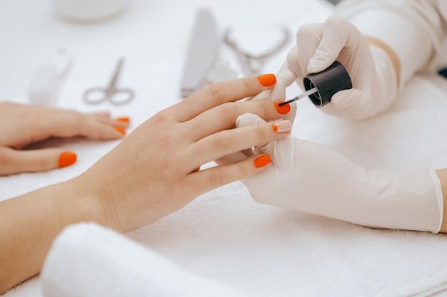 Роспись ногтей Premium Фотографии