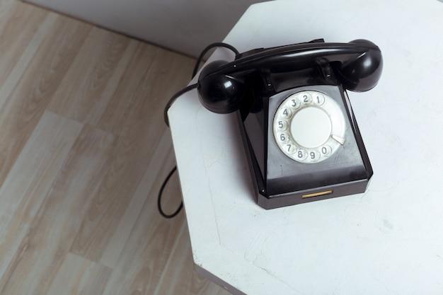 Ретро телефон Premium Фотографии