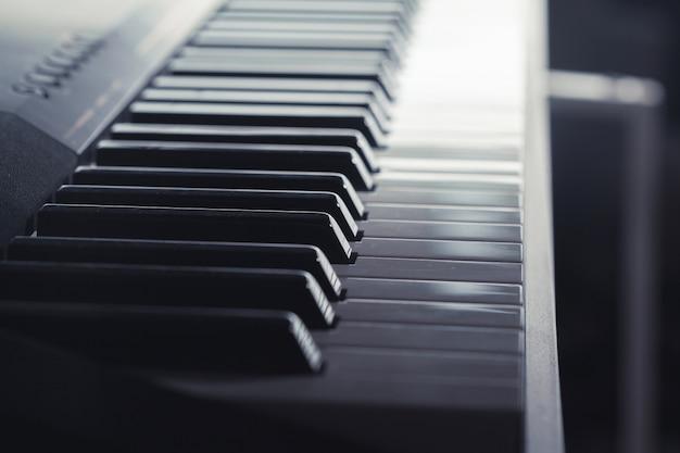 Клавиатура пианино Premium Фотографии