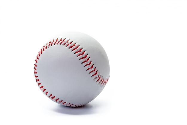 分離された野球ボール Premium写真