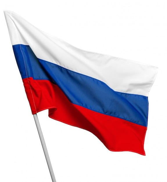 Картинка российского флага без фона