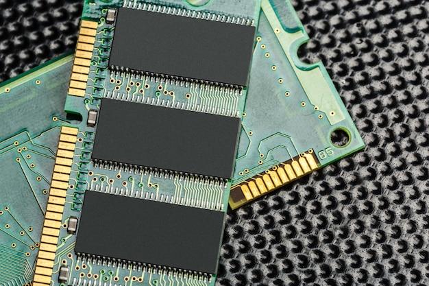 コンピュータチップ、技術および電子産業 Premium写真