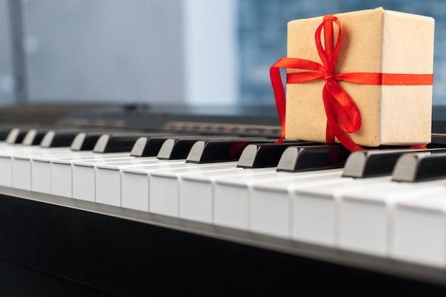 Клавиши пианино Premium Фотографии
