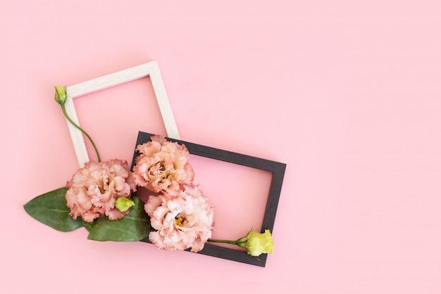 Счастливый день матери, женский день, день святого валентина или день рождения пастельных цветов конфеты фон. Premium Фотографии