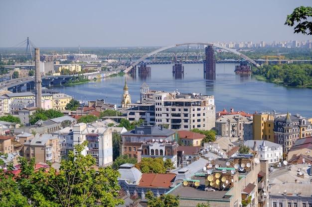 キエフの都市景観 Premium写真