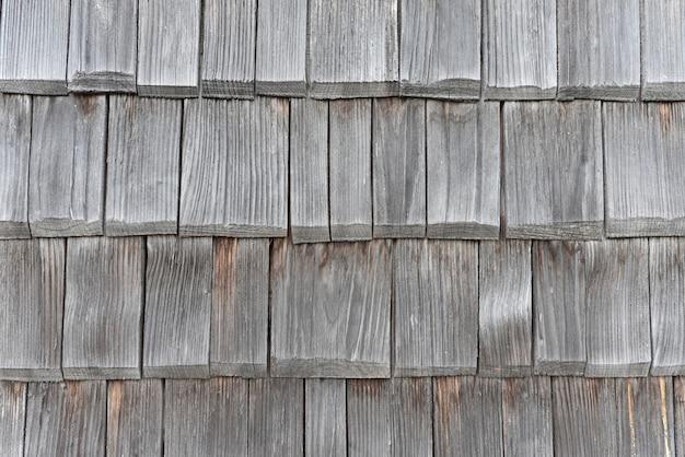 古い木製の屋根瓦 Premium写真