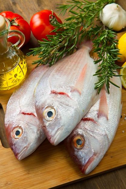 鯛 Premium写真