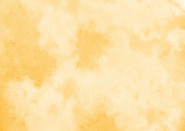 黄色の水彩テクスチャ 無料写真