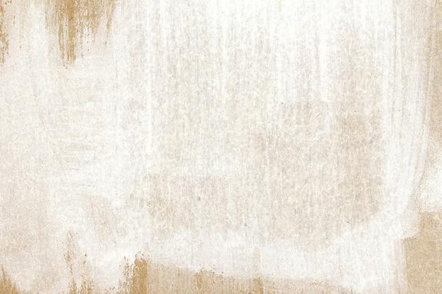 白と茶色の水彩テクスチャ 無料写真