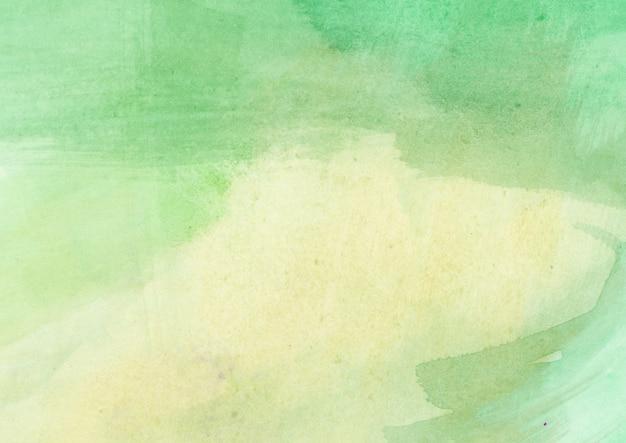 緑の水彩テクスチャ 無料写真