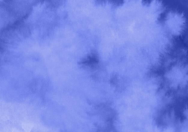 青い水彩背景 無料写真