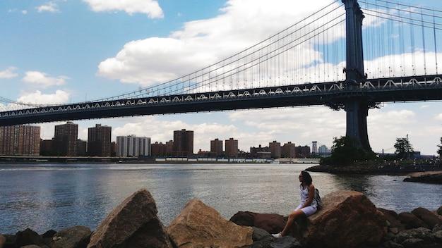 ブルックリンブリッジ Premium写真