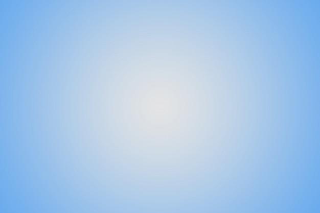 創造的なプロジェクトのための水色と白のグラデーション Premium写真