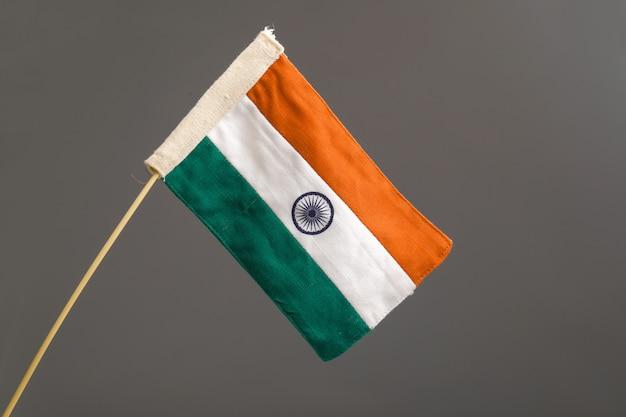 インドの旗 Premium写真