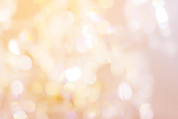 クリスタルシャンデリアクローズアップ Premium写真