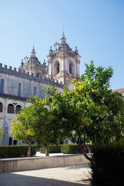 Монастырь алкобака, португалия Premium Фотографии
