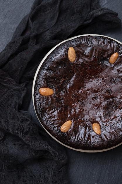 ポルトガル、マデイラの典型的なケーキ Premium写真