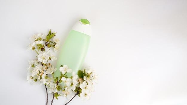 上面図浴室用品およびスパ化粧品 Premium写真