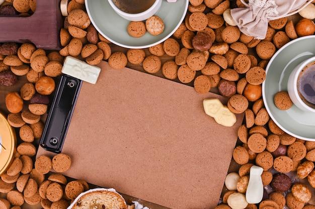 Традиционный голландский праздник для детей синтерклаас. зимние каникулы в европе и нидерландах. Premium Фотографии