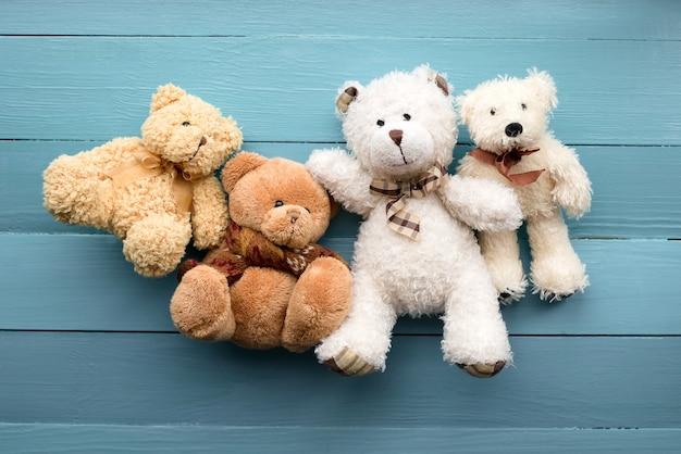 Плюшевый медведь Premium Фотографии