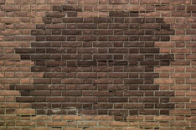 レンガの壁のテクスチャ背景 Premium写真