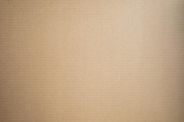 茶色の紙をテクスチャ背景を閉じる Premium写真
