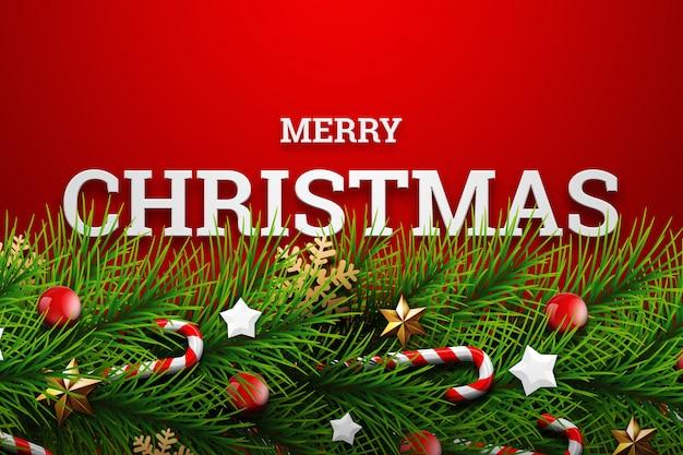 Новогодний фон с золотыми огнями боке. рождественская открытка. плакат, баннер. Premium Фотографии