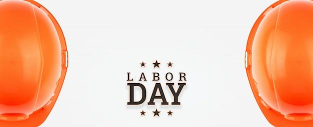 チラシ、労働者の日セールプロモーション広告。 Premium写真