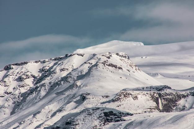 Гора возле вулкана эйяфьятлайокудль Бесплатные Фотографии