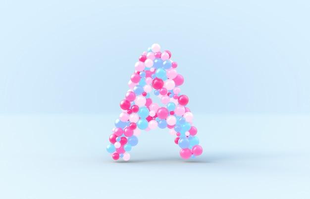 甘いキャンディーボールa Premium写真
